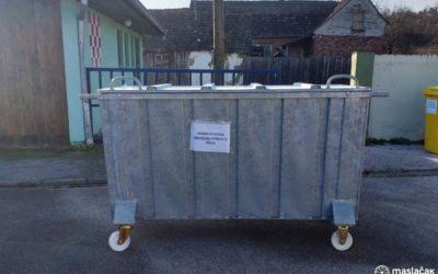 Rješenje za otpad od svinjokolje u spremnicima u sklopu nogometnog igrališta NK Dilj