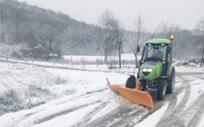 Snijeg nije uspio iznenaditi naše službe