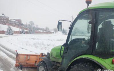 [FOTOGALERIJA] Čišćenje snijega i ostali radovi zimske službe