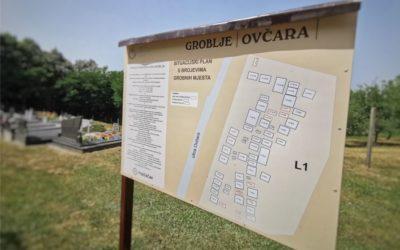Postavljene informacijske ploče na groblja