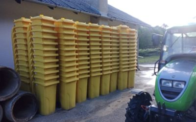 Počela podjela žutih kanti za otpadnu plastiku